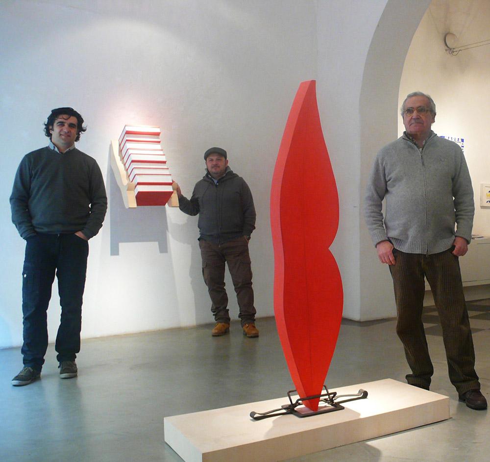 Galleria d 39 arte contemporanea vannucci - Nostro padre versione moderna ...